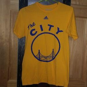 Mens golden state warriors jersey shirt